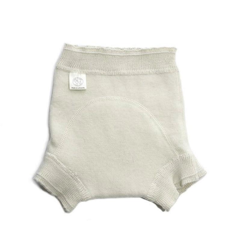Soaker / Daytime Diaper Cover in Organic Merino Wool ...